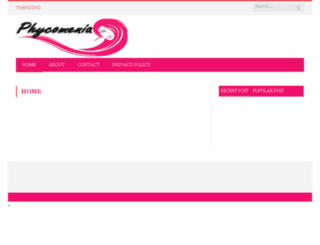 phycomenia.com screenshot