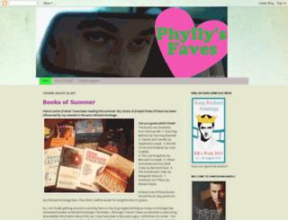phyllysfaves.blogspot.com screenshot