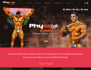 physcgym.com screenshot