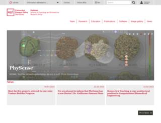 physense.upf.edu screenshot
