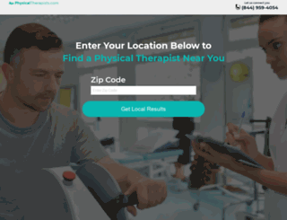 physicaltherapists.com screenshot