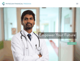 physicianfinancialfreedom.com screenshot