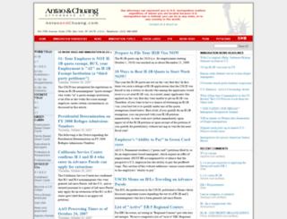 physicians.antaoandchuang.com screenshot