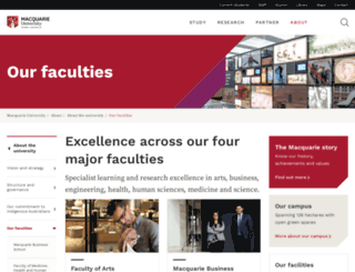 physics.mq.edu.au screenshot