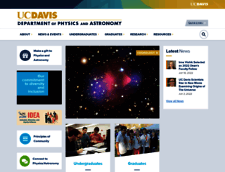 physics.ucdavis.edu screenshot