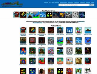 physicsgames.net screenshot
