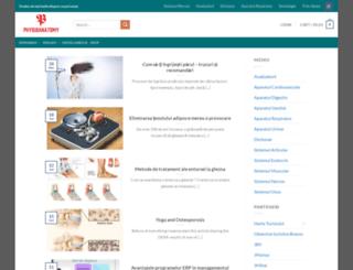 physioanatomy.com screenshot
