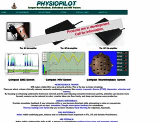 physiopilot.com screenshot