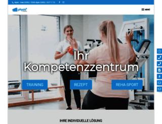 physioplus-alpen.de screenshot
