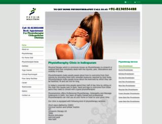 physiosolution.com screenshot