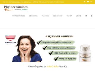 phytoceramides.com.vn screenshot