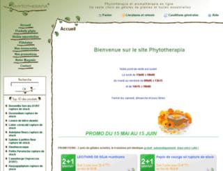 phytotherapia.eu screenshot