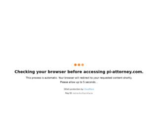 pi-attorney.com screenshot