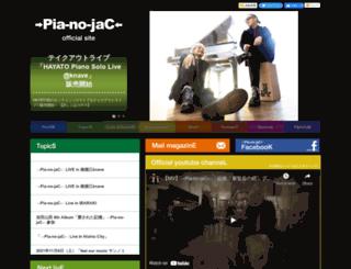 pia-no-jac.net screenshot