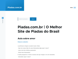 piadas.com.br screenshot