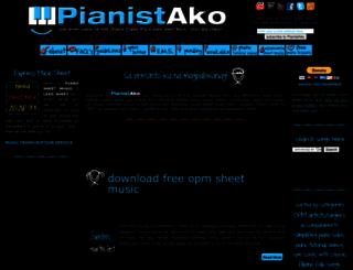 pianistako.blogspot.com screenshot
