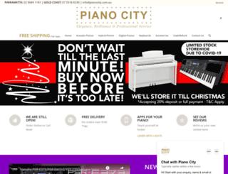 pianocity.com.au screenshot