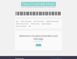 pianoensemblemusic.com screenshot