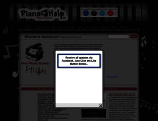 pianohelp.net screenshot