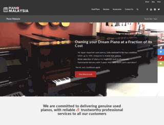 pianomalaysia.com screenshot