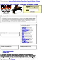 pianored.com screenshot