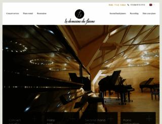 pianos-et-musique.com screenshot
