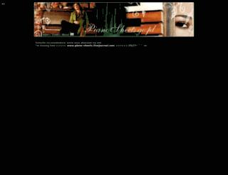pianosheets.ovh.org screenshot