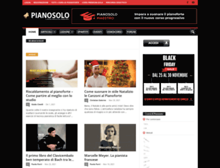 pianosolo.it screenshot