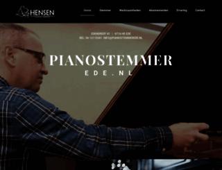 pianostemmerede.nl screenshot