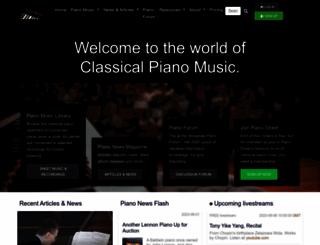 pianostreet.com screenshot