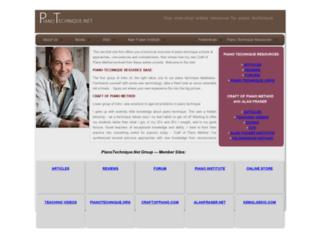 pianotechnique.net screenshot