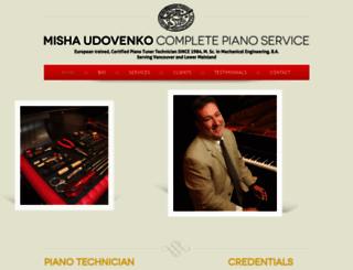 pianotuningandservice.com screenshot