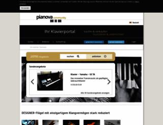 pianova.com screenshot