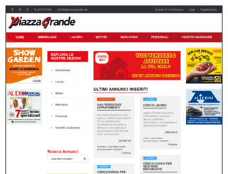 piazzagrande.net screenshot