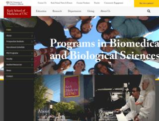 pibbs.usc.edu screenshot