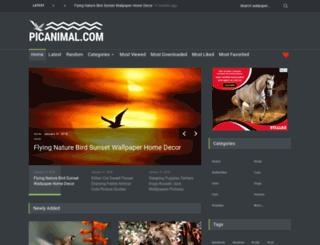 picanimal.com screenshot