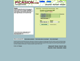 picasion.com screenshot