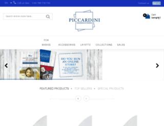 piccardini.com screenshot