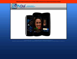 picdial.com screenshot