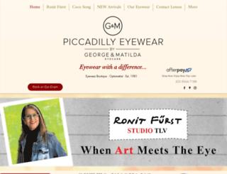 piceyewear.com screenshot