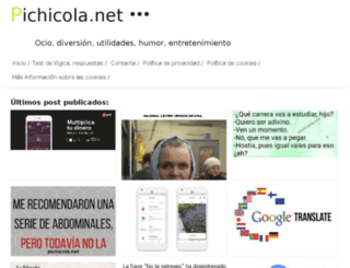 pichicola.net screenshot