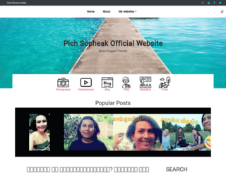 pichsopheak.com screenshot