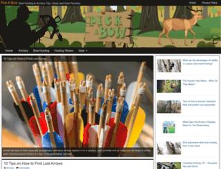 pickabow.com screenshot