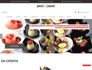 pickdpack.com screenshot