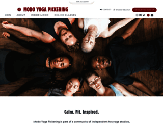 pickering.mokshayoga.ca screenshot
