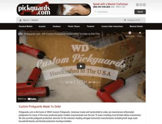 pickguards.com screenshot