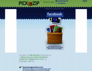 picknzip.com screenshot