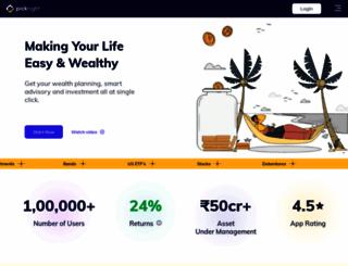 pickright.in screenshot