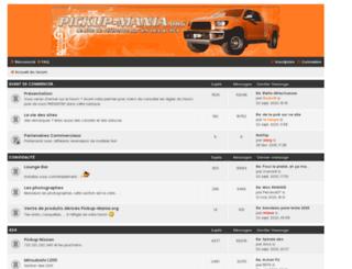 pickup-mania.org screenshot
