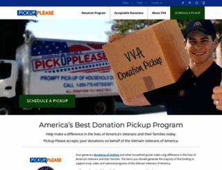 pickupplease.org screenshot